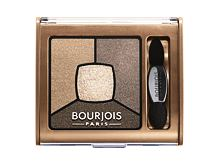 Lidschatten BOURJOIS Paris Smoky Stories Quad Eyeshadow Palette 3,2 g 06 Upside Brown
