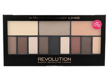 Lidschatten Makeup Revolution London Ultra Eye Contour Light & Shade 14 g