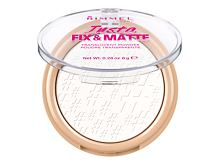 Puder Rimmel London Insta Fix & Matte 8 g 001 Translucent