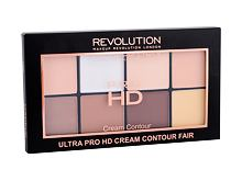 Puder Makeup Revolution London Ultra Pro HD Cream Contour Palette 20 g Fair