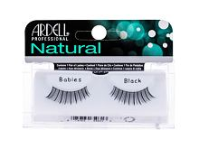 Falsche Wimpern Ardell Natural Babies 1 St. Black Sets