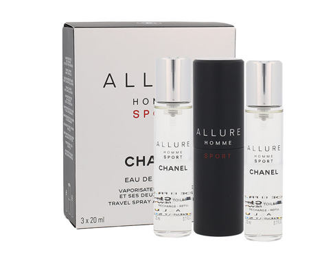 Eau de Toilette Chanel Allure Homme Sport Twist and Spray 3x20 ml