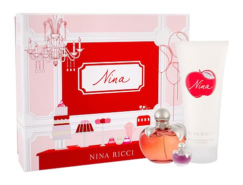 Eau de Toilette Nina Ricci Nina 80 ml Sets